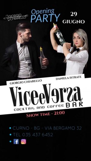 Grande serata magica Flair Show e Drinks