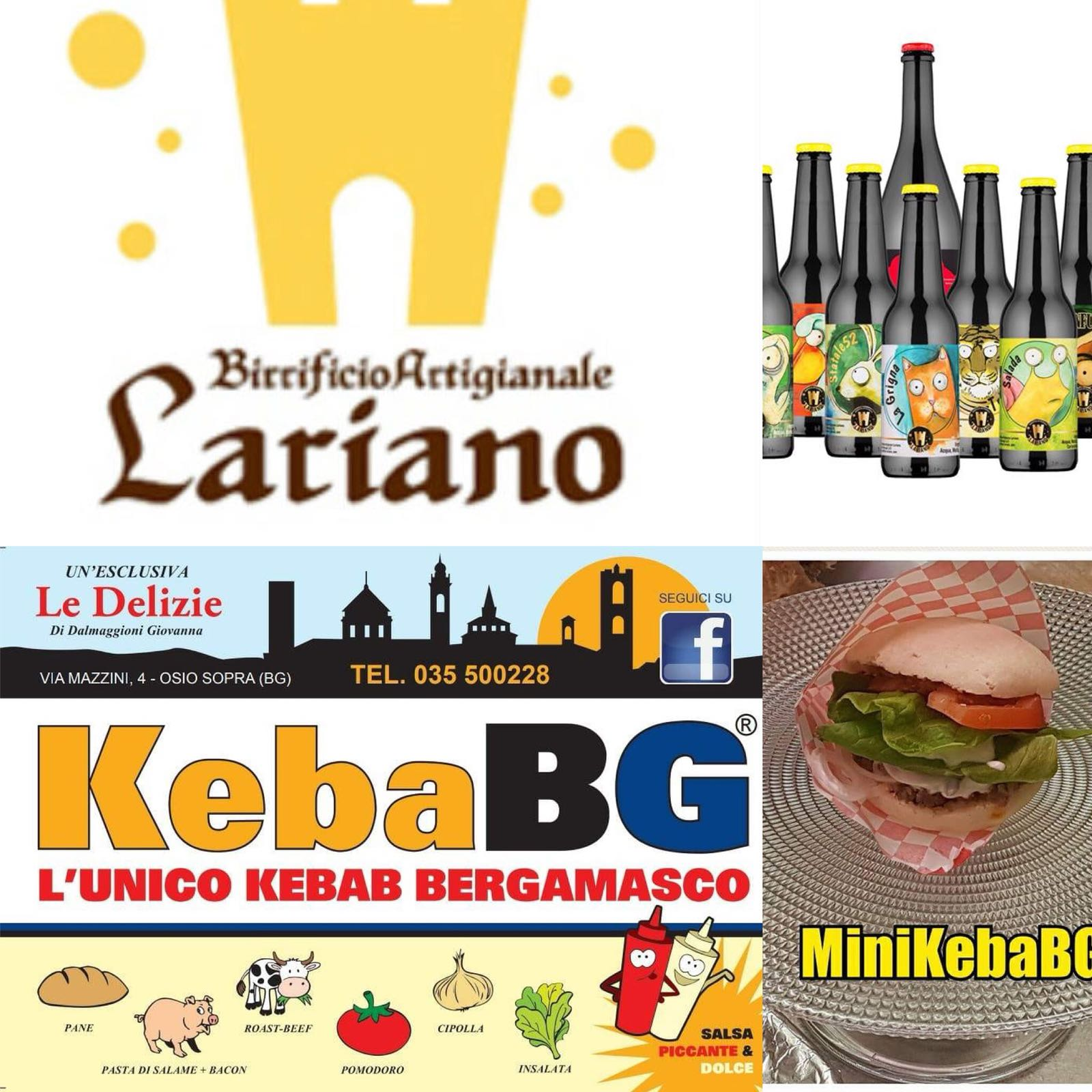 Venerdì 7 AperiPower con Birrificio Lariano e Mini KeBaBG